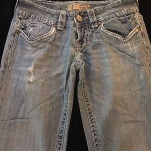 MEK Denim distressed jeans